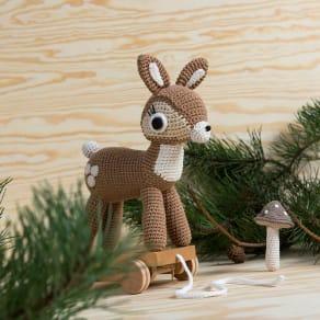 sebra(セバ)/いっしょに行こう編みぐるみプルトイ|おもちゃ 写真