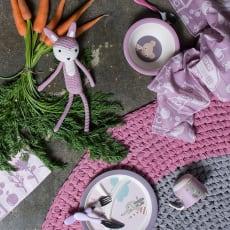 sebra(セバ)/丸いフォルムで持ちやすい フォーク スプーン ナイフのカトラリーセット|子供食器