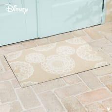 ミッキー/玄関マット レース 50×75cm|Disney(ディズニー)