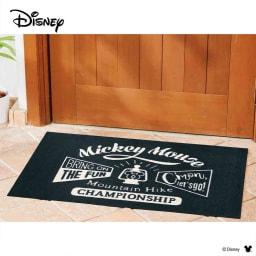 ミッキー/玄関マット マウンテンバイク 60×90cm Disney(ディズニー)