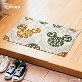 ミッキー/玄関マット ロココ調 50×75cm|Disney(ディズニー) 写真