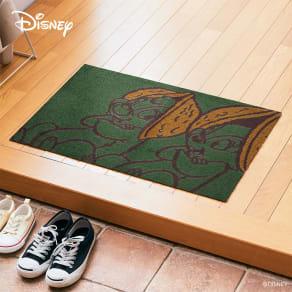チップとデール/玄関マット 50×75cm|Disney(ディズニー) 写真
