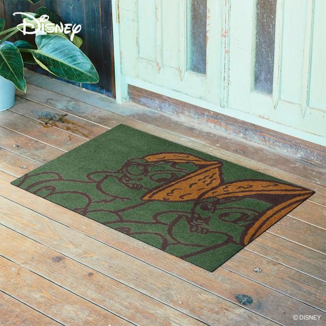チップとデール/玄関マット 60×90cm Disney(ディズニー)