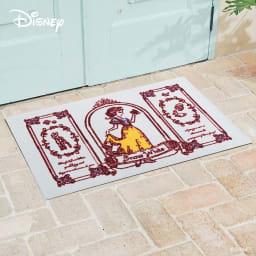 白雪姫/玄関マット 60×90cm Disney(ディズニー)