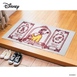 白雪姫/玄関マット 75×120cm|Disney(ディズニー)