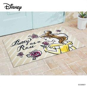 美女と野獣/玄関マット 75×120cm Disney(ディズニー) 写真