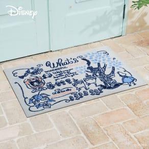 不思議の国のアリス/玄関マット 60×90cm|Disney(ディズニー) 写真
