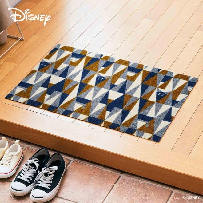 Donald(ドナルド)/玄関マット ジオメトリック 50×75cm|Disney(ディズニー)