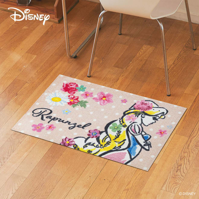 Rapunzel(ラプンツェル)/玄関マット 50×75cm|Disney(ディズニー)