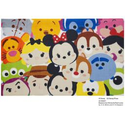 Tsum Tsum(ツムツム)/玄関マット 75×120cm|Disney(ディズニー)