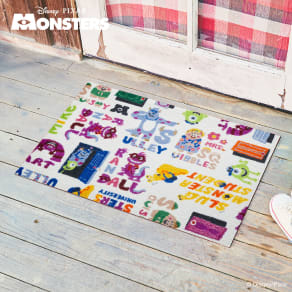 Monsters, Inc(モンスターズインク)/玄関マット50×75cm|Disney(ディズニー) 写真