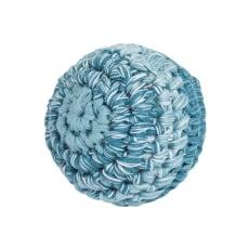 sebra(セバ)/ボールの手編みラトル Sサイズ|ベビー おもちゃ