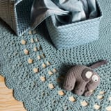 sebra(セバ)/ぞうの手編みベビーオルゴール 写真