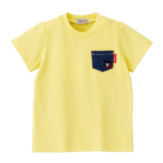 miki HOUSE(ミキハウス)/ダブルB 半袖Tシャツ (ア)イエロー