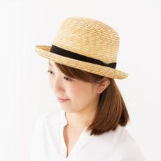 田中帽子店/麦わら帽子 ボーラーハット カーラ