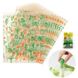 鮮度保持セット(袋8枚+ベジシャキちゃん2個) 鮮度保持セット(袋8枚+ベジシャキちゃん2個)