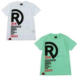 RealBvoice(リアルビーボイス)/キッズ ロゴバリエーションTシャツ(130-160cm) (ア)ホワイト、(イ)メロン