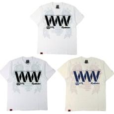 RealBvoice(リアルビーボイス)/WWメンズ透かしTシャツ