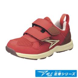 アキレス瞬足/足育オブリークシリーズ 216(15-19cm) 子供靴 (イ)レッド