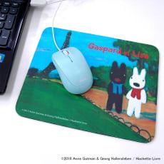 リサとガスパール マウスパッド
