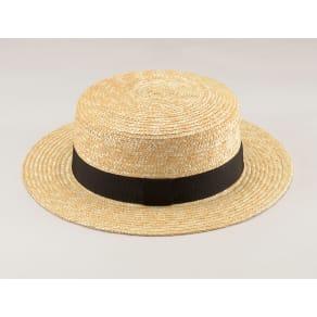 田中帽子店/麦わら帽子 マランジー 大麦レディスカンカン帽 UK-H026 写真