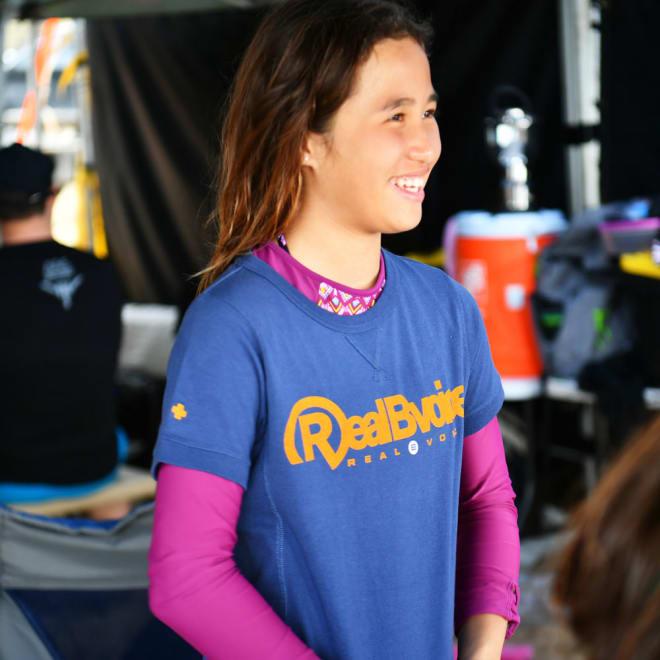 RealBvoice(リアルビーボイス)/キッズ ヘビーウェスト リブ Tシャツ RBV(130-160cm) 商品は半そでTシャツのみになります