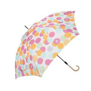 moz(モズ)/UVカットスリムジャンプ傘 エルクと水玉 写真
