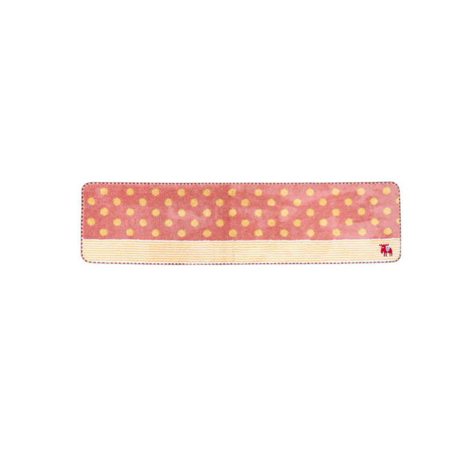 moz(モズ)/キッチンマット ドット Mサイズ幅180cm (ア)ピンク