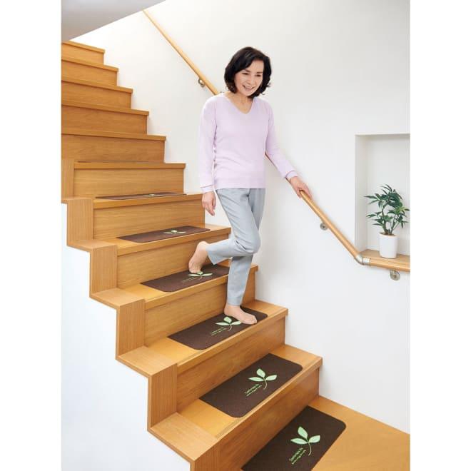 COGIT(コジット)/蓄光階段マット 貼りピカッ(15枚組)