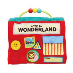 Ed・Inter(エド・インター)/ふわふわトーイ WONDERLAND-ワンダーランド- 仕掛けがたくさんの布絵本です。取っ手つきで持ち運びもできます