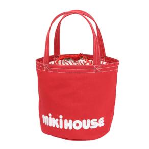 miki HOUSE(ミキハウス)/バケツ型ロゴトートバッグ 写真