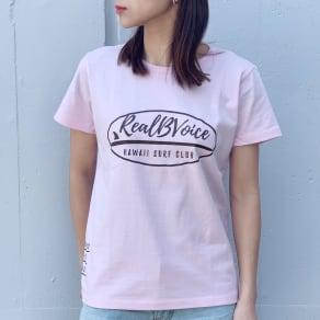 RealBvoice(リアルビーボイス)/ジャパンハート サーフボード レディスTシャツ 写真