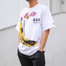 RealBvoice(リアルビーボイス)/デベソ バナナ Tシャツ