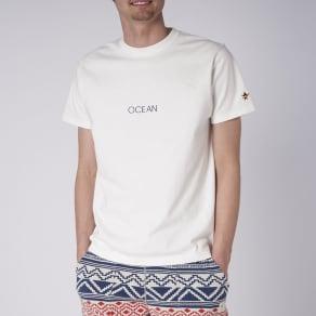 OP(オーシャンパシフィック)/シンプルロゴデザイン メンズTシャツ 写真