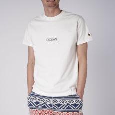 OP(オーシャンパシフィック)/シンプルロゴデザイン メンズTシャツ