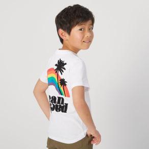 OP(オーシャンパシフィック)/トロピカルロゴデザイン キッズTシャツ 写真