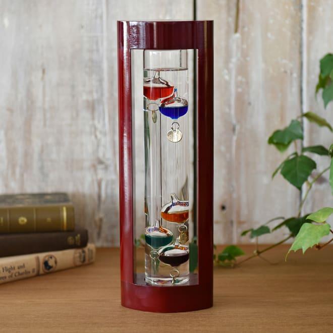 ガラスフロート温度計 L