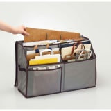 活性炭入り紙袋収納ボックス 写真