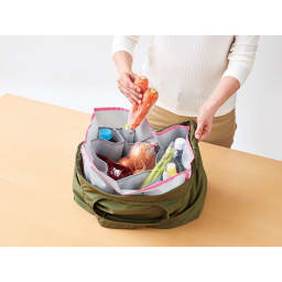 COGIT(コジット)/エコバッグのバッグイン マイエコバッグを仕切り付きバッグに大変身