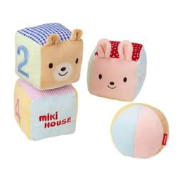 miki HOUSE(ミキハウス)/ベビーキューブ すべてリンリンと鈴が鳴ります