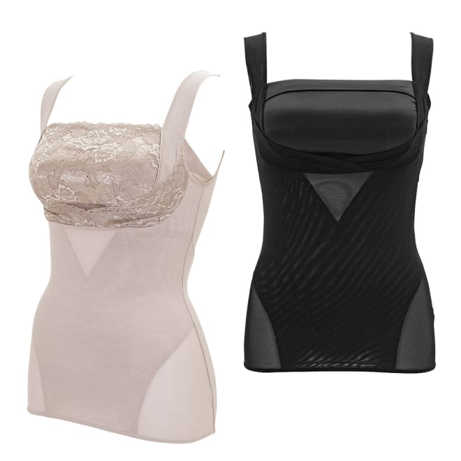 BRADELIS NewYork/ブラデリスニューヨーク バストアップシェイパーブラキャミ 番組のブラデリスNYシリーズの中で、最も補整力の高い※『バストアップシェイパーブラキャミ』の最新モデル。着ることで即・メリハリボディが手に入る補整力はそのままに、下着感を感じさせない美しいルックスにリニューアル!