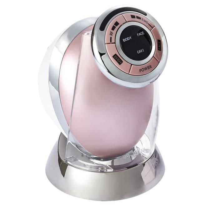家庭用キャビテーションマシン「キャビスパRFコア」 エステの「キャビテーション」を家庭用に応用したシェイプマシン。ボディだけでなく顔にも使えます!(ア)ピンク
