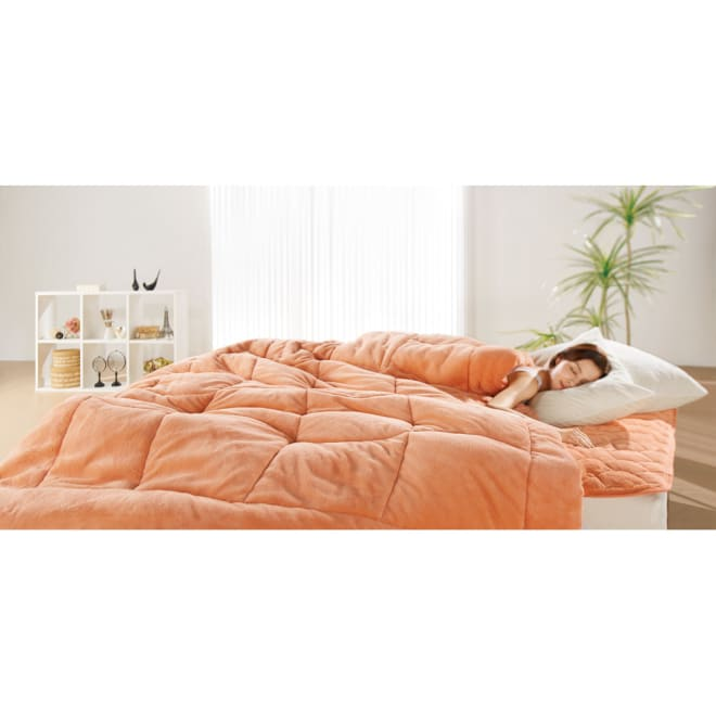 ヒートループDX 「お得な掛け敷きセット」(シングル) ディノス冬の寝具7年連続販売数NO.1※!中わたの発熱力がパワーアップ!ますます抜け出せない暖かさを生み出します。セットで使えばさらにポッカポカ!電気毛布などに頼りたくない方は特におすすめです。※2012年10月~2019年3月の出荷数をもとに決定(旧モデルを含む)