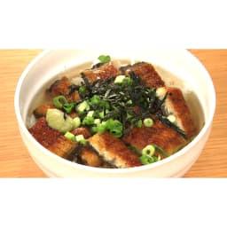 三河産うなぎ ワケあり6食セット 【盛り付け例】