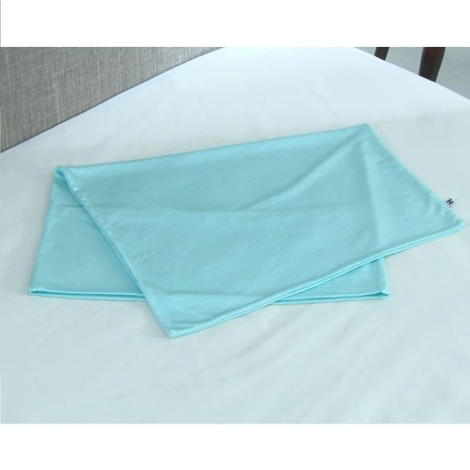 リラックスフィット枕 専用冷感カバー 大人気の「リラックスフィット枕」に、接触冷感素材の専用カバーが登場!