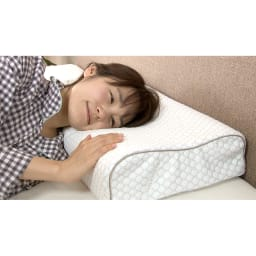 フランスベッド マカロンピロー プレミアム 専用枕カバー 枕カバーに消臭効果のある特殊加工を施し、イヤな汗の臭いが気になりにくい!気持ちよく寝られます。※枕カバー単品のみの販売です。枕本体は付属しません。