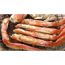 ワケありズワイガニの脚 3Lサイズ(3kg) [調理例]焼きガニ