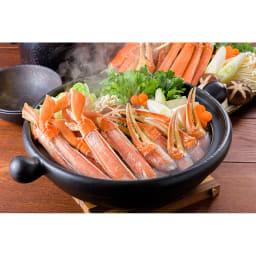 ワケありズワイガニの脚 3Lサイズ(3kg) [調理例]カニ鍋
