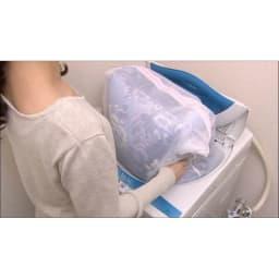 布団の老舗・西川 毛布仕立て布団カバー(シングル) 洗濯OK(ネット使用)