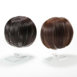 人毛100%ウィッグ(セミロングタイプ) (ア)自然色…毛染めをしていない方向けのナチュラルカラー。 (イ)栗色…毛染めをしている方におすすめのナチュラルなブラウン。※色に迷う場合は(イ)栗色をおすすめします。